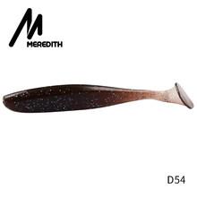 Leurres de pêche Meredith Easy Shiner 50mm 75mm 100mm 130mm Wobblers leurres souples de pêche à la carpe appâts artificiels en Silicone Double couleur(China)