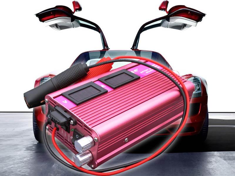 12V 20A car battery charger 110V/220V optional Aluminum alloy shock resistence motorcycle 6-200Ah - Digi-Ricco Co., Ltd. store