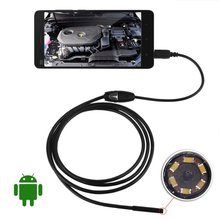 2016 5M 5.5mm LED Mini Android USB Endoscope Waterproof Borescope Inspection Camera(China (Mainland))