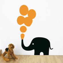 Buy Bubble Elephant Wall Sticker Home Art Decor Decal home art kids window wall 58*78CM Free for $8.37 in AliExpress store