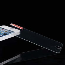 2014 New 0.2mm For iphone 5 5s 5c Tempered Glass Screen Protector 5 5S Premium front clear protective film cover