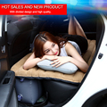 Car Back Seat Cover Car Air Matrress Travel Inflation Bed DHL free Shipping Inflatable Car Air