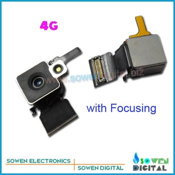 for iphone 4g original back camera rear camera with focusing +wholesaler or retail+best quality+FREE shipping