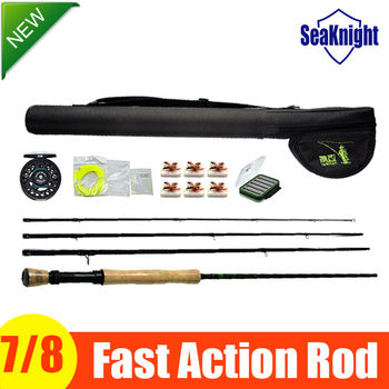 The Best Rod & Reel Combo Packages Include Fast Action Fly Rod & Alloy Reel & Rod Case & Leaders & Tippet Line & Gifts Model 7/8
