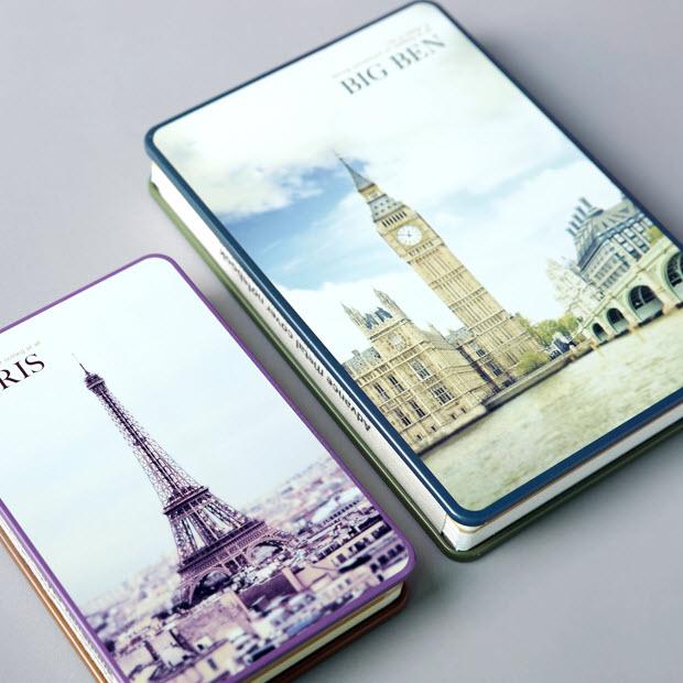 YIKALUN Eiffel Tower Series Notebook Iron Mask Simple Notepad Hardcover Notebook 18.3cmX12.4cm 1PCS<br><br>Aliexpress