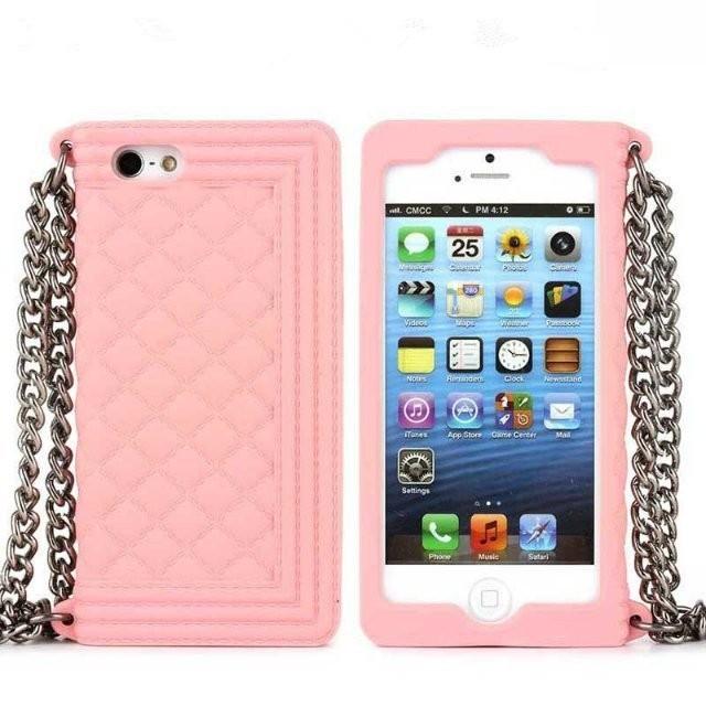 Luxury Paris Boy Bag Case for iPhone 5 5s 5c 6 6s 6 Plus 6s Plus Handbag Metal Soft Silicon Cover Protective Mobile Phone Case