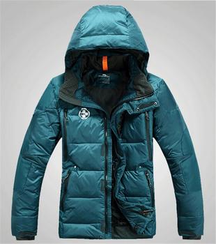 Пуховик, мужчины в зима толстовки куртка тёплый вилочная часть фугу пальто парка пиджаки хлопок мягкий rlx 350