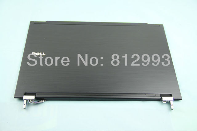 Laptop LCD Back Cover  for Dell Latitude E4300 P/N: XDM52 with Hinges 59PJ6