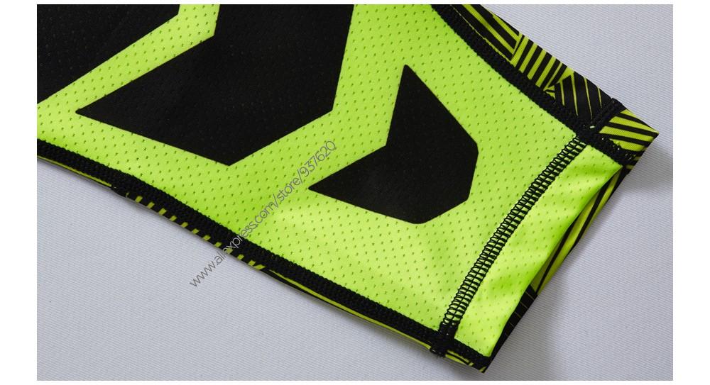Vansydical Geometric Skinny Sport Yogo Fight Shorts for Men (16)