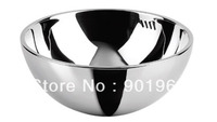 Home bar office building double walls stainless steel 304 bathroom vessel wash basin wash bowls
