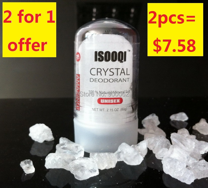 Free shipping for 60G alum stick,alum deodorant,deodorant stick,antiperspirant stick,crystal deodorant(China (Mainland))