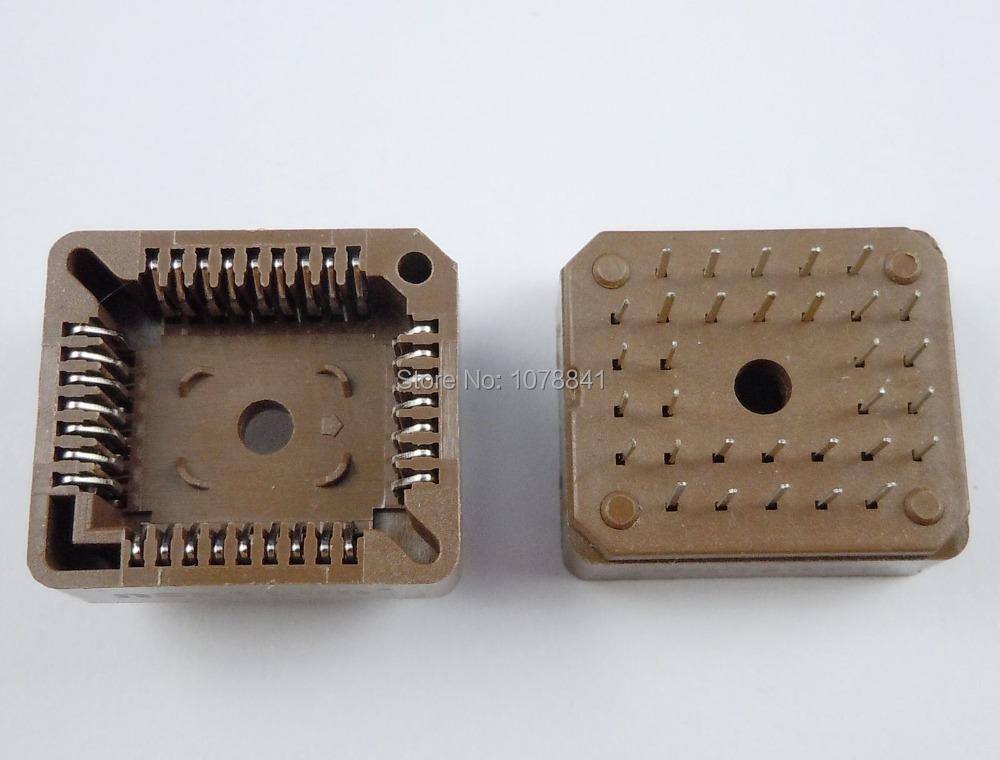 50 Pcs Per Lot PLCC32 32 Pin DIP Socket Adapter PLCC Converter(China (Mainland))
