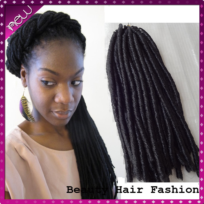 beauty women best selling full lace hair extensions Soft Dread Braid Hair Synthetic Braiding - Love Beauty store