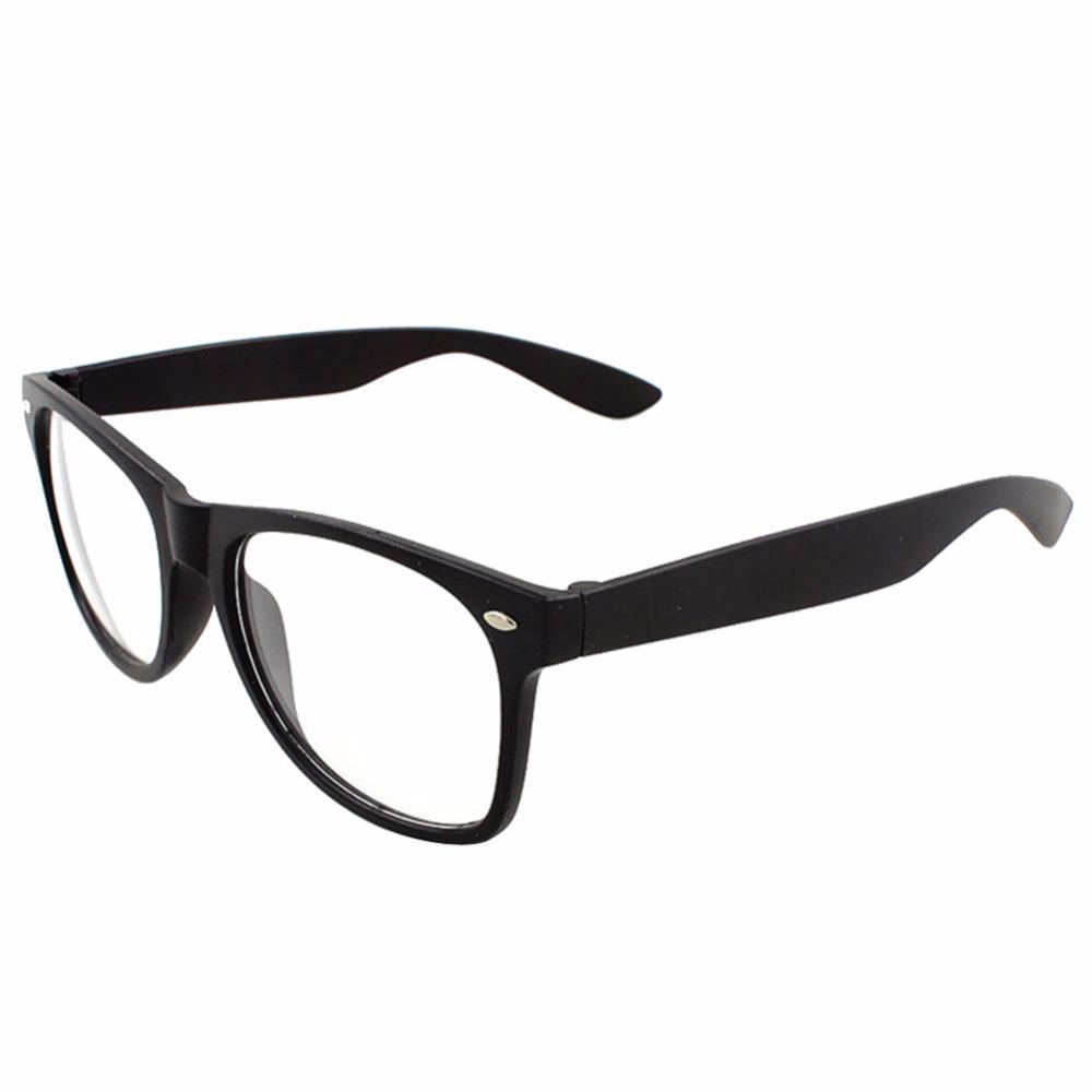 9 Colors Trendy Unisex Men Women Eyewear Frames Clear Lens Glasses Square Frame V2