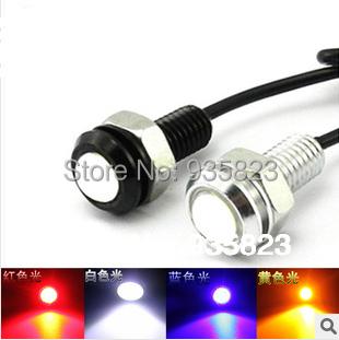 Free shipping 10pcs 1.8CM 12v Car led DRL Eagle eye lamp Daytime Running light source /Brake light T