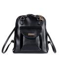 Fashion Simple Black Backpack Women Trendy Korean Stylie Designer Solid Color Shoulder Bag High Quality Crossbody