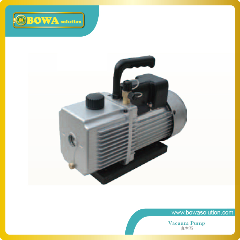 2 stages rotary van vaccuum pump designed for larger household air-conditionging(China (Mainland))