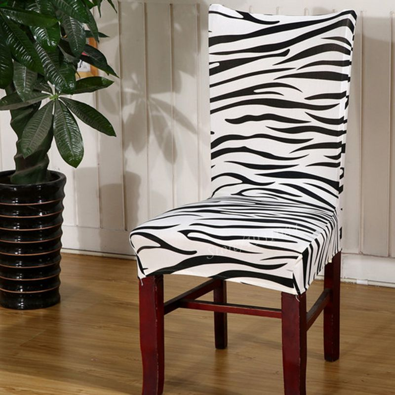 Zebra Print Chair Covers Promotion Shop for Promotional  : 10 Colors font b Zebra b font Flower font b Printed b font Elastic font b from www.aliexpress.com size 800 x 800 jpeg 100kB