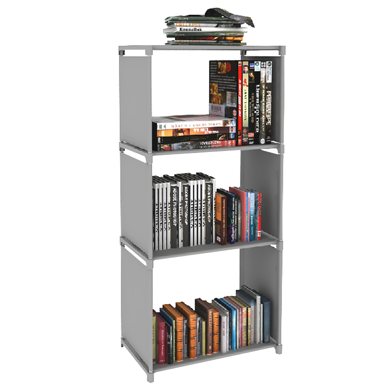 2014 new creative diy 4 layers bookcase bookshelf bookcase for Diy modern bookshelf