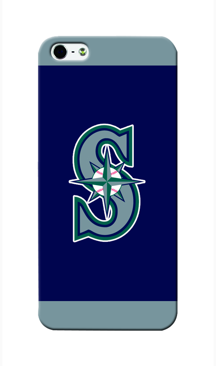 mlb seattle mariners pattern case for iphone 5 5s 3d pc hard diy cover free drop shipping. Black Bedroom Furniture Sets. Home Design Ideas