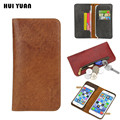 Luxury General Pouch Zipper Wallet Real Leather Case for iphone 7 6s 5s 6 Plus 5c