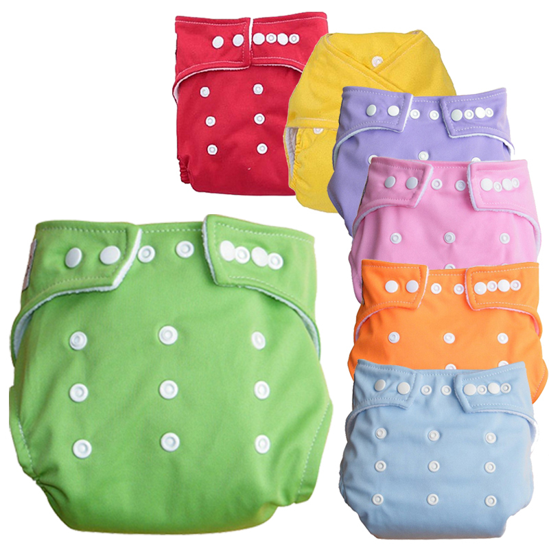 Freedom Choose Unisex Adjustable Newborn Baby Infant Waterproof Nappy/Cloth Diaper Bag Reusable Washable Nappies 7 Colors+Insert - I love baby store