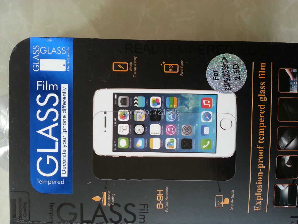 5 2.5D Premium Tempered Glass Screen Protector Brand New Film Guard Samsung Galaxy S5 i9600 - Easy Buy 365 store