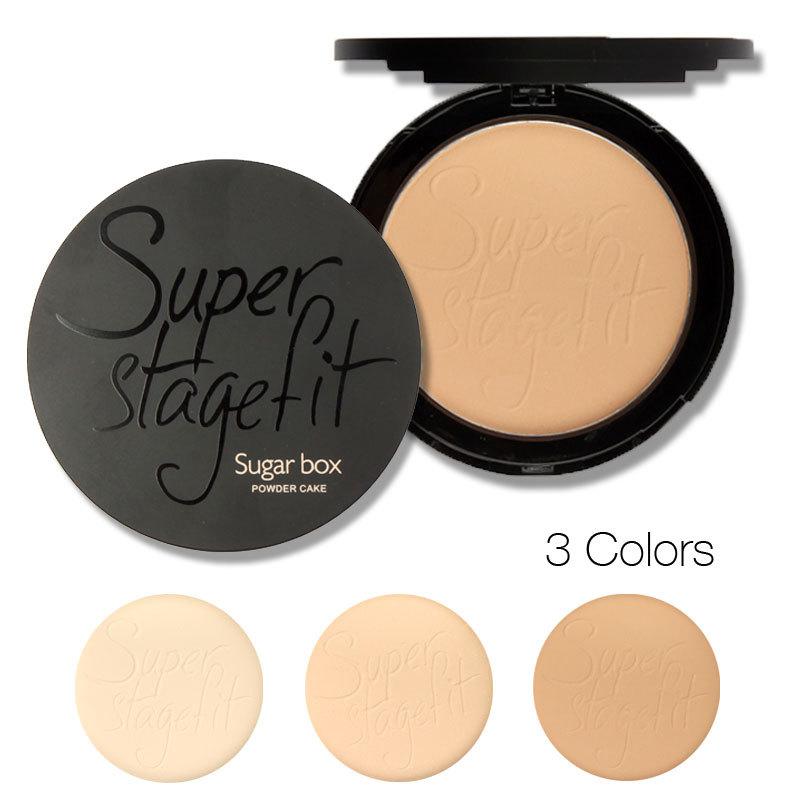 Sugar box New 2014 Fabulous Pressed Face Make up Powder Makeup Powder Palette Skin Finish(China (Mainland))