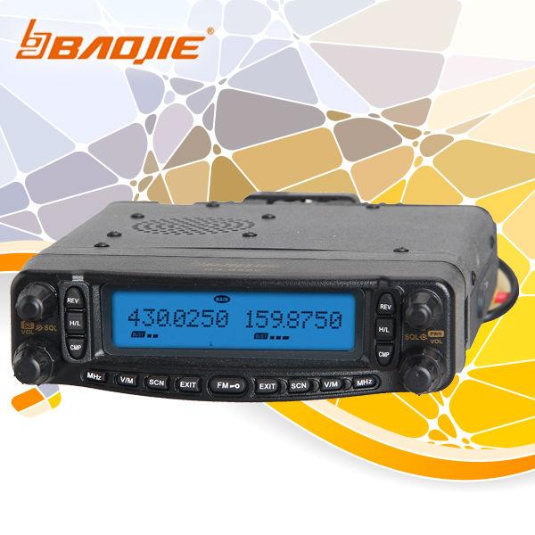 uhf/vhf mobile radio fm transceiver two way radio BJ-9900 air band receiving(China (Mainland))