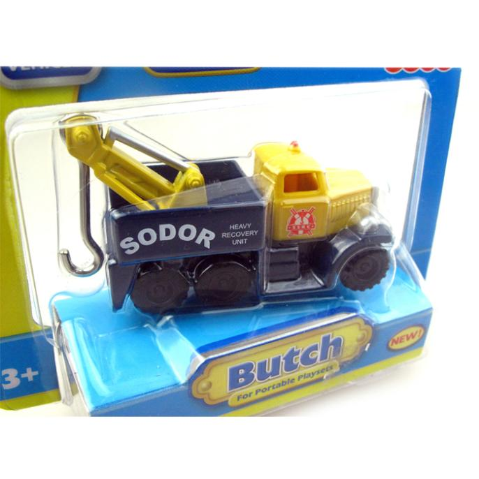 T0045 Diecast THOMAS and friend The Tank Engine take along train Magnetic metal children kids toy gift Butch(China (Mainland))