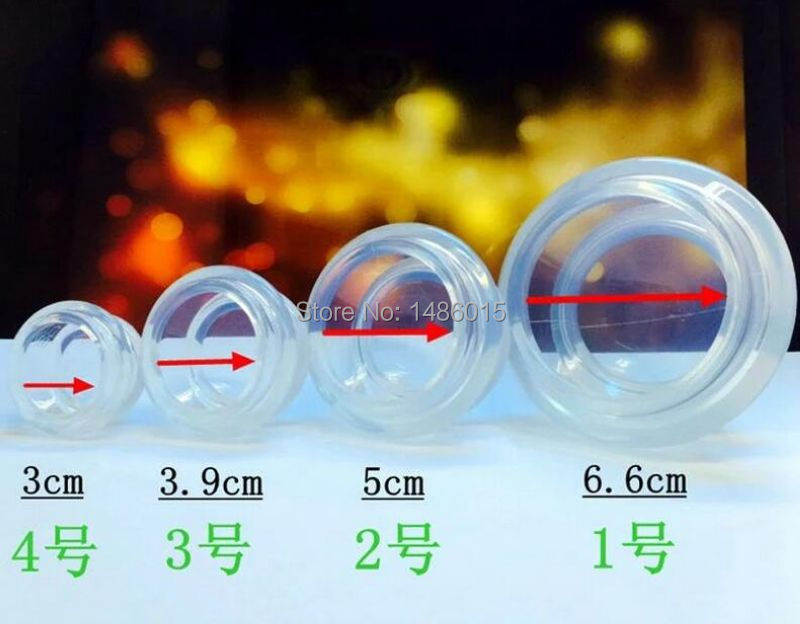 4pcs Cup Premium Transparent Silicone Cupping Set Chinese Therapy Cellulite Medical Vacuum Silicone Massage Cups Health Care  4pcs Cup Premium Transparent Silicone Cupping Set Chinese Therapy Cellulite Medical Vacuum Silicone Massage Cups Health Care