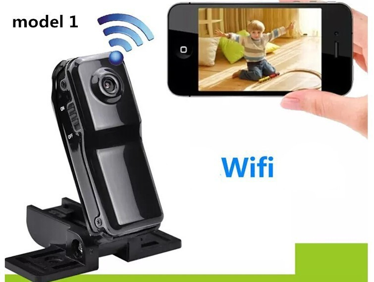 Mini camcorders cam Md81 WiFi camera mini dv dvr camera wifi camcorder Video Record hd mini camera Wireless IP Sports Camera(China (Mainland))