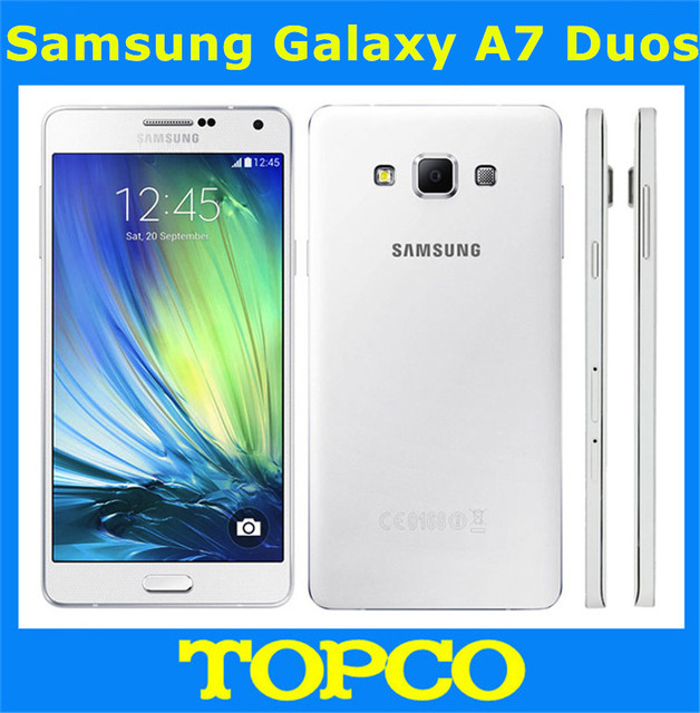 Samsung Galaxy A7 Duos Original Unlocked 4G GSM Android Mobile Phone Dual Sim A7000 Octa Core 5