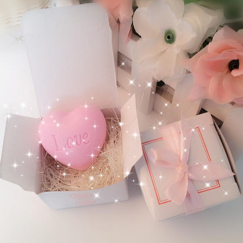 making soap supplies better bodies Love pink white box portable mini 5.5 * 5.5 * 4cm Soap bath and body Watch video please!(China (Mainland))