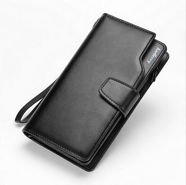 New Men Wallets Casual wallet For Man Purse Clutch Bag Brand Leather Wallet Long Design Men Bag Gift For Men N331(China (Mainland))