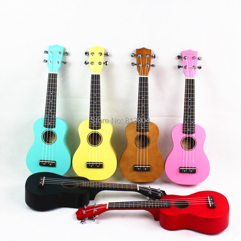 free shipping 21 inch color especially in kerry ukulele Ukraine lili Hawaii tetrachord little guitar(China (Mainland))