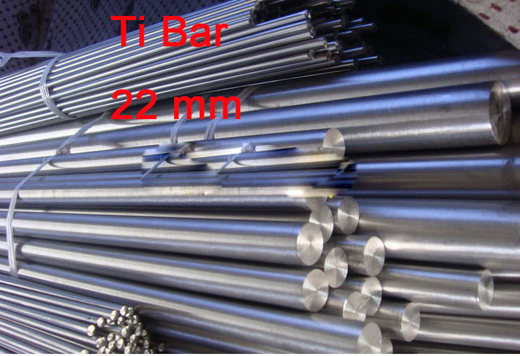 22mm Thickness Ta2 Titanium Bars Industry Experiment Research DIY GR2 Ti Rod 200 mm/pc(China (Mainland))