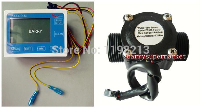 Расходомер Flow Meter G3/4 /lcd 10/24v