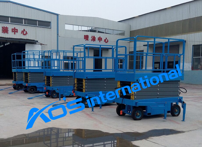 Mobile Hydraulic Scissor Aerial Lift Platform With Max Height 20m(China (Mainland))