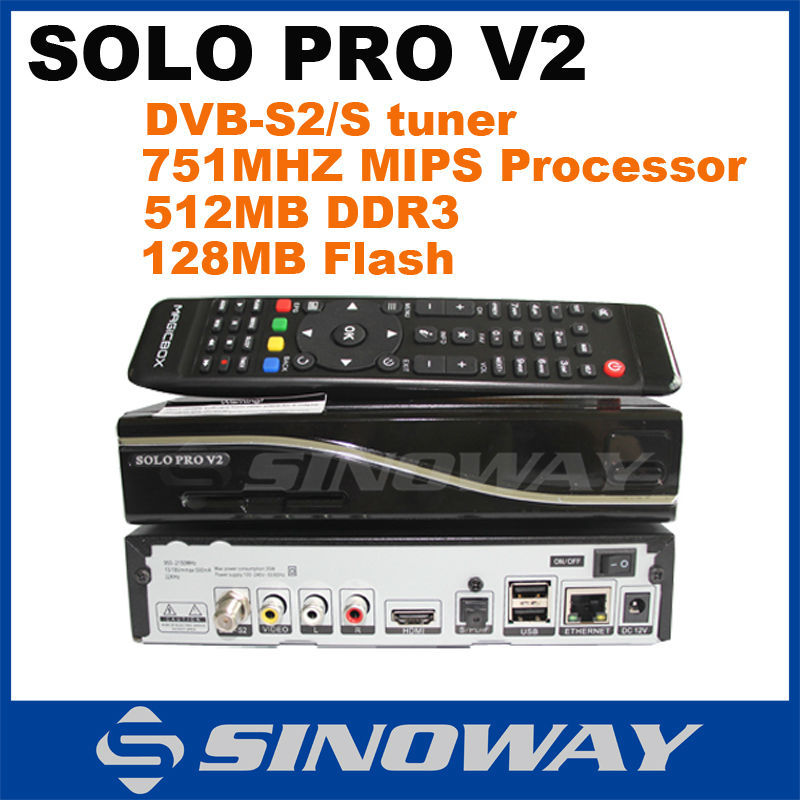 New model Solo pro V2 faster than VU SOLO PRO/VU+ SOLO PRO DVB-S2 HD Linux Enigma 2 Satellite tv Receiver support CCCAM and IPTV(China (Mainland))