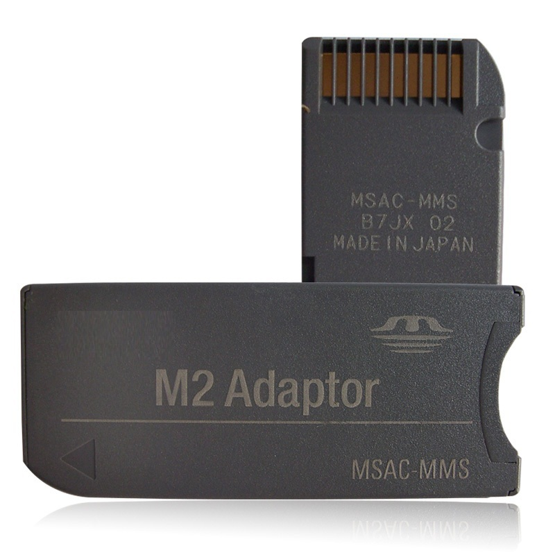 50pcs M2 Micro Memory Stick to MS PRO Adapter Converter For Sony & Sandisk Cards(China (Mainland))