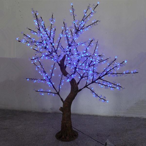 Perfect blue Led Tree Light Maple Street/hotel/park/garden Decorating Lighting(China (Mainland))