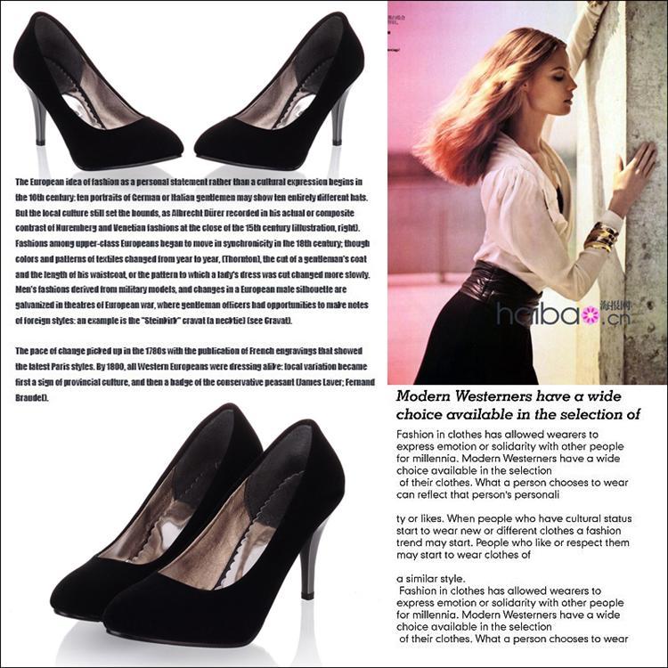 где купить Туфли на высоком каблуке 2014fashionNubuck /ol size40/43 по лучшей цене