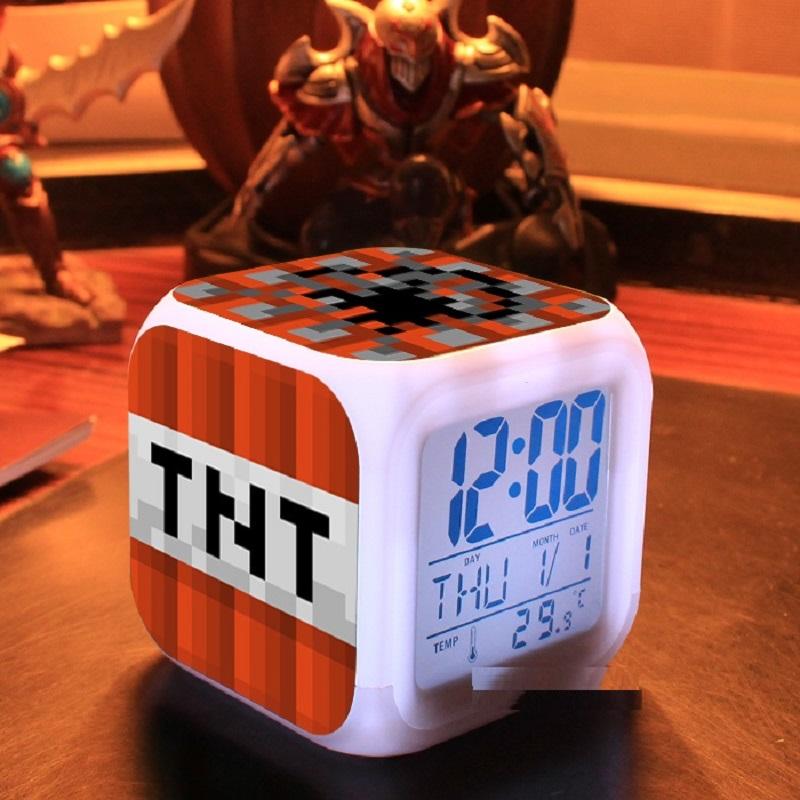 minecraft tnt clock