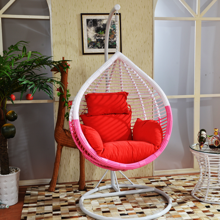 Coarse Iron Cradle Swing Hanging Chair Rattan Chairs Adult