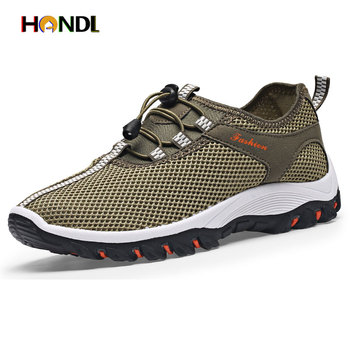 2016 New Summer Men Shoes Breathable Male Casual Shoes Fashion Chaussure Homme Mesh Zapatos Hombre Outdoor Men Shoes H6632