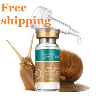 5 Days See Result Snail liquid whitening moisturizing essence Serum Remover removal redness Acne Scar - -Dropshipping Online Store store