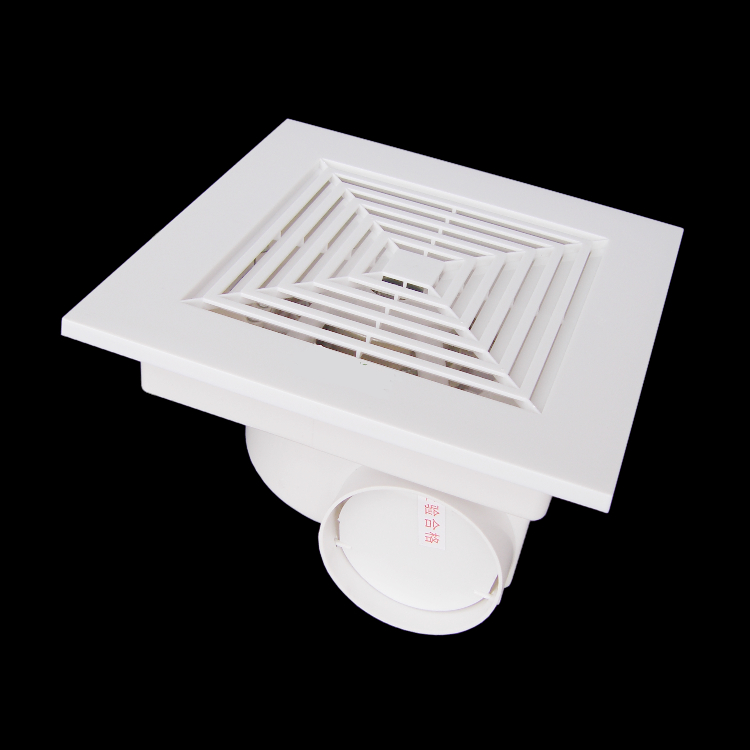 Plastic ventilation fan for ceiling bathroom fan living for 2 bathroom exhaust fan venting
