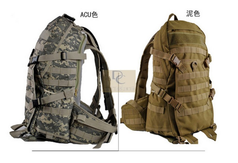 camping bags ,waterproof Molle backpack military 3P Tad Tactical Backpack assault travel bag men cordura 40L - EDC-GEAR store