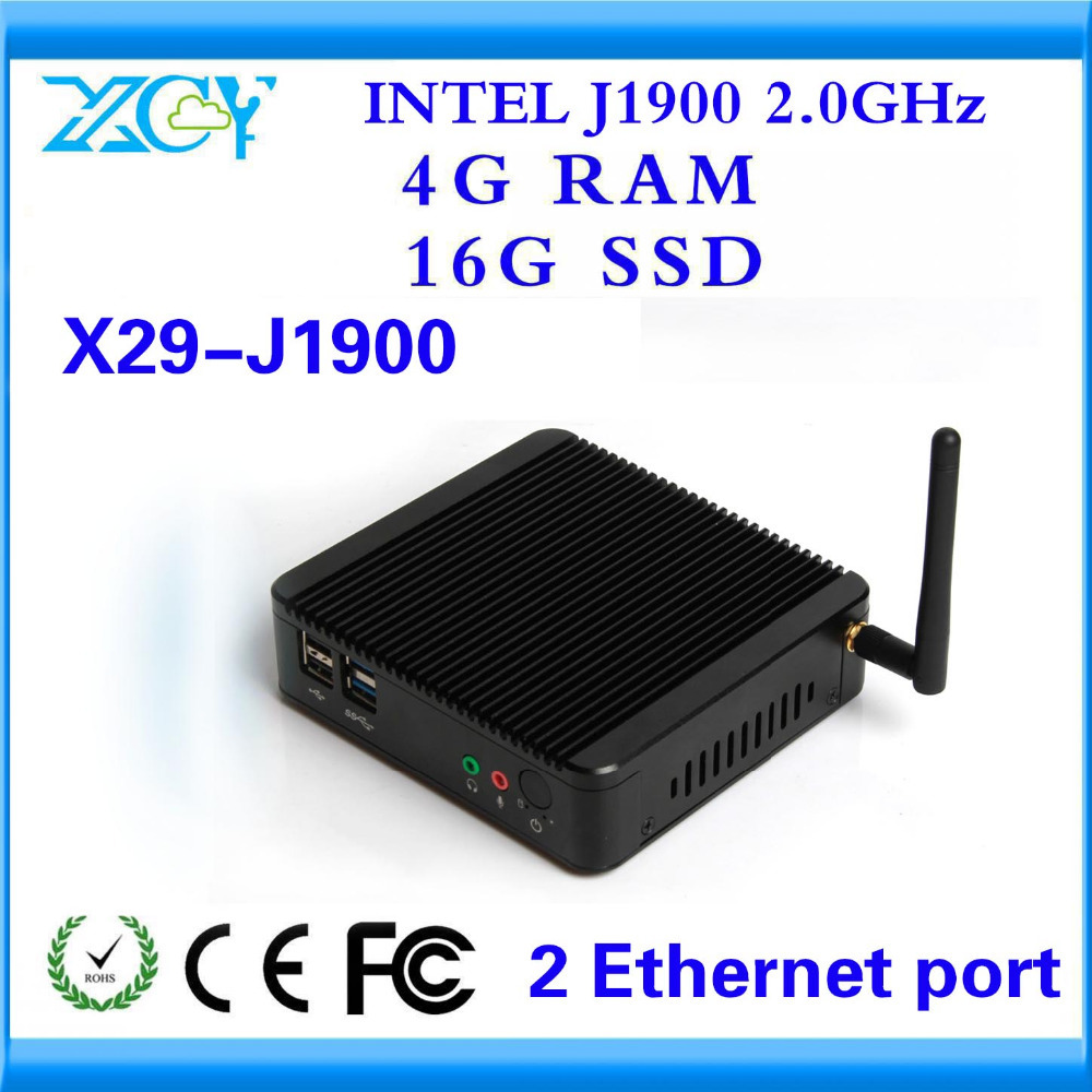 XCY Server Computer Linux Quad Core Factory competitive price CPU J1900 4G RAM AND 16G SSD Support Linux OS Ubuntu MNI COMPUTER(China (Mainland))